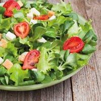 Fish & meat salad - 14,00